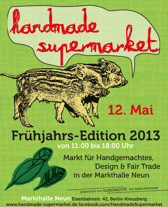 Handmade Supermarket Flyer Mai